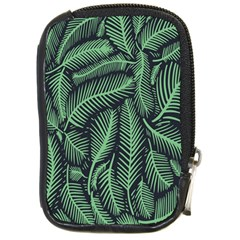 Coconut Leaves Summer Green Compact Camera Cases by Mariart