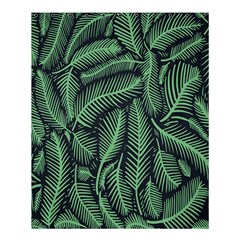 Coconut Leaves Summer Green Shower Curtain 60  X 72  (medium)  by Mariart
