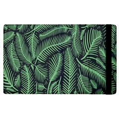 Coconut Leaves Summer Green Apple Ipad 3/4 Flip Case by Mariart
