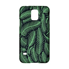 Coconut Leaves Summer Green Samsung Galaxy S5 Hardshell Case  by Mariart