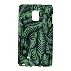 Coconut Leaves Summer Green Galaxy Note Edge by Mariart