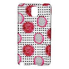 Fruit Patterns Bouffants Broken Hearts Dragon Polka Dots Red Black Samsung Galaxy Note 3 N9005 Hardshell Case by Mariart