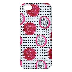 Fruit Patterns Bouffants Broken Hearts Dragon Polka Dots Red Black Iphone 5s/ Se Premium Hardshell Case by Mariart