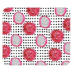 Fruit Patterns Bouffants Broken Hearts Dragon Polka Dots Red Black Double Sided Flano Blanket (small)