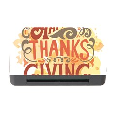 Happy Thanksgiving Sign Memory Card Reader With Cf by Mariart
