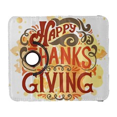 Happy Thanksgiving Sign Galaxy S3 (flip/folio) by Mariart