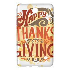 Happy Thanksgiving Sign Samsung Galaxy Tab 4 (8 ) Hardshell Case  by Mariart