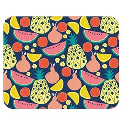 Fruit Pineapple Watermelon Orange Tomato Fruits Double Sided Flano Blanket (medium)  by Mariart