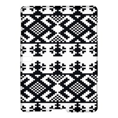 Model Traditional Draperie Line Black White Triangle Samsung Galaxy Tab S (10 5 ) Hardshell Case  by Mariart