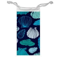 Mega Menu Seashells Jewelry Bag by Mariart