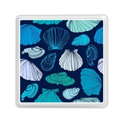 Mega Menu Seashells Memory Card Reader (square)  by Mariart