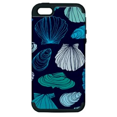 Mega Menu Seashells Apple Iphone 5 Hardshell Case (pc+silicone) by Mariart
