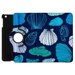 Mega Menu Seashells Apple Ipad Mini Flip 360 Case by Mariart