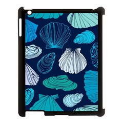 Mega Menu Seashells Apple Ipad 3/4 Case (black) by Mariart