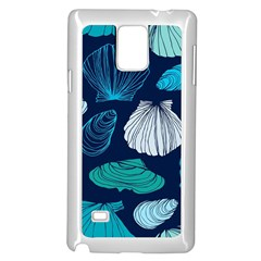Mega Menu Seashells Samsung Galaxy Note 4 Case (white) by Mariart