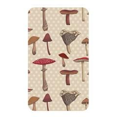 Mushroom Madness Red Grey Brown Polka Dots Memory Card Reader by Mariart