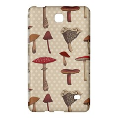 Mushroom Madness Red Grey Brown Polka Dots Samsung Galaxy Tab 4 (7 ) Hardshell Case  by Mariart