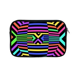 Optical Illusion Line Wave Chevron Rainbow Colorfull Apple Macbook Pro 13  Zipper Case by Mariart