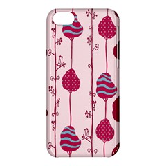 Original Tree Bird Leaf Flower Floral Pink Wave Chevron Blue Polka Dots Apple Iphone 5c Hardshell Case by Mariart