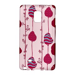 Original Tree Bird Leaf Flower Floral Pink Wave Chevron Blue Polka Dots Galaxy Note Edge by Mariart