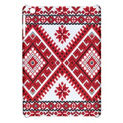 Model Traditional Draperie Line Red White Triangle Apple Ipad Mini Hardshell Case by Mariart
