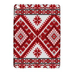 Model Traditional Draperie Line Red White Triangle Ipad Air 2 Hardshell Cases by Mariart