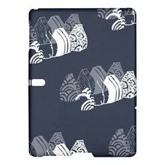 Japan Food Sashimi Samsung Galaxy Tab S (10 5 ) Hardshell Case  by Mariart
