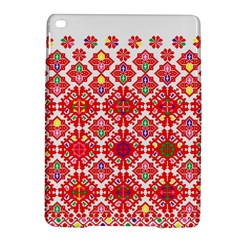 Plaid Red Star Flower Floral Fabric Ipad Air 2 Hardshell Cases by Mariart