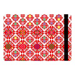 Plaid Red Star Flower Floral Fabric Apple Ipad Pro 10 5   Flip Case
