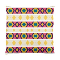 Rhombus And Stripes                      Standard Cushion Case (two Sides) by LalyLauraFLM