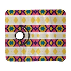 Rhombus And Stripes                      Samsung Galaxy Note Ii Flip 360 Case by LalyLauraFLM