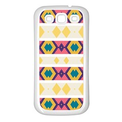 Rhombus And Stripes                      Samsung Galaxy S7710 Xcover 2 Hardshell Case by LalyLauraFLM