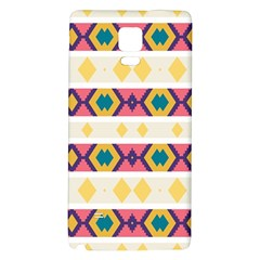 Rhombus And Stripes                      Samsung Galaxy Note Edge Hardshell Case by LalyLauraFLM