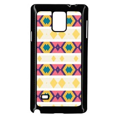 Rhombus And Stripes                      Samsung Galaxy Note 4 Case (color) by LalyLauraFLM