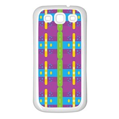 Stripes And Dots                     Samsung Galaxy S7710 Xcover 2 Hardshell Case by LalyLauraFLM