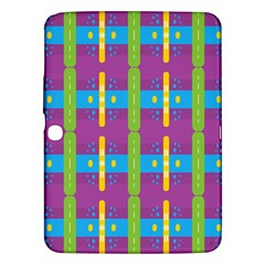 Stripes And Dots                     Samsung Galaxy Tab 3 (8 ) T3100 Hardshell Case by LalyLauraFLM