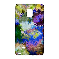 Color Mix Canvas                     Samsung Galaxy Note 4 Leather Folio by LalyLauraFLM