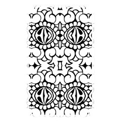 Psychedelic Pattern Flower Crown Black Flower Memory Card Reader by Mariart