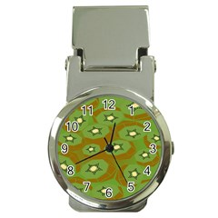Relativity Pattern Moon Star Polka Dots Green Space Money Clip Watches by Mariart