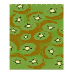 Relativity Pattern Moon Star Polka Dots Green Space Shower Curtain 60  X 72  (medium)  by Mariart