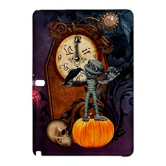 Funny Mummy With Skulls, Crow And Pumpkin Samsung Galaxy Tab Pro 10 1 Hardshell Case by FantasyWorld7