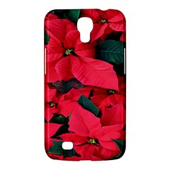 Red Poinsettia Flower Samsung Galaxy Mega 6 3  I9200 Hardshell Case by Mariart