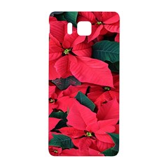 Red Poinsettia Flower Samsung Galaxy Alpha Hardshell Back Case by Mariart