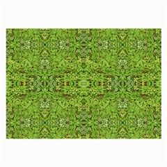 Digital Nature Collage Pattern Large Glasses Cloth (2 Side) by dflcprints
