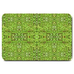 Digital Nature Collage Pattern Large Doormat  by dflcprints