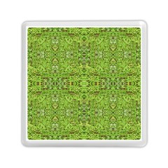 Digital Nature Collage Pattern Memory Card Reader (square)  by dflcprints