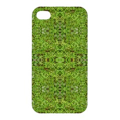 Digital Nature Collage Pattern Apple Iphone 4/4s Hardshell Case by dflcprints