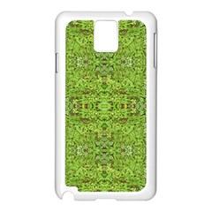Digital Nature Collage Pattern Samsung Galaxy Note 3 N9005 Case (white) by dflcprints