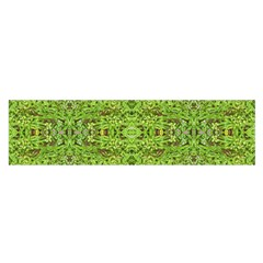 Digital Nature Collage Pattern Satin Scarf (oblong) by dflcprints