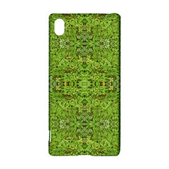 Digital Nature Collage Pattern Sony Xperia Z3+ by dflcprints